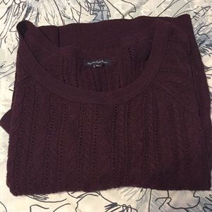 AE Dark Purple Knit Sweater 💜